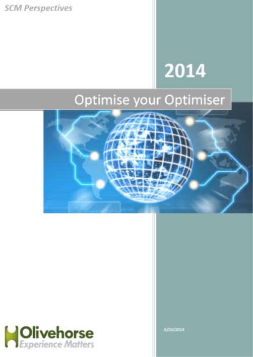 Optimiser your optimiser report