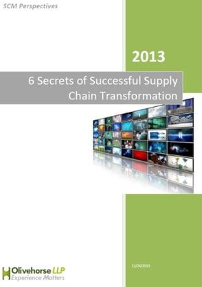 6 Secrets of Successful Supply Chain Transformation Report